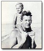With daughter Jean in 1934