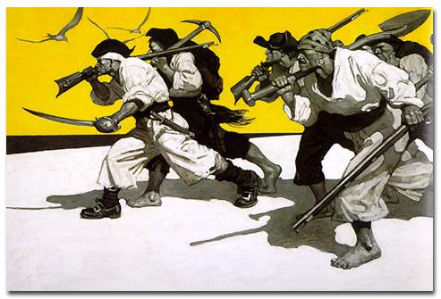 "Wyeth's ""Treasure Island"""