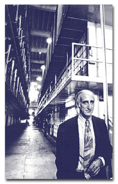 Ben H. Bagdikian After my imprisonment, a Washington Post photographer was permitted to photograph my cell block from which I had been released.