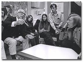 Fuller with students