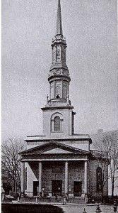 New South Church Boston, 1774 designed by Charles Bulfinch