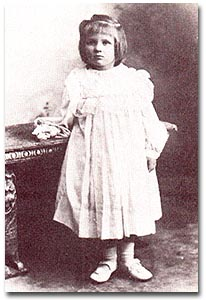 Cecilia Payne as a child