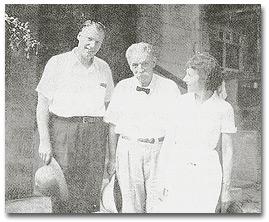 Don, Vilma, and Dr. Albert Schweitzer