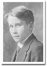 E.E. Cummings's graduation photo from the Cambridge Latin School, 1911