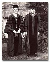 President Ada L. Comstock and Rev. Frederick Eliot (Radcliffe, 6/21/32)