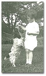 Arthur at age 4.