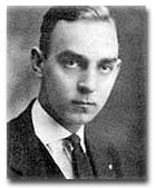 1921 - Fritchman as a student at Wharton School of Finance, University of Pennsylvania.