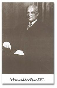 Burton, Harold Hitz (1888-1964)