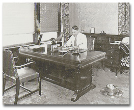 Jim at his Honolulu office in the late 1920s