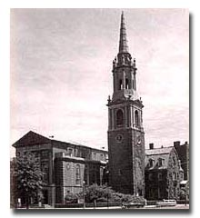 The eighth edifice of the Original Old North Church in Boston