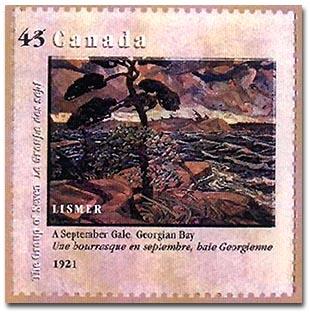 Lismer stamp