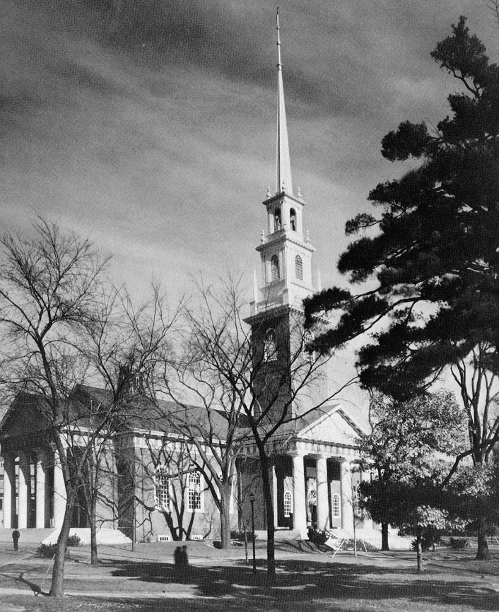 Memorial Church, Harvard (1931).