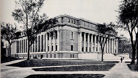 Widener Library (1913).