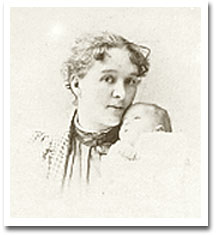 Marquand as an infant