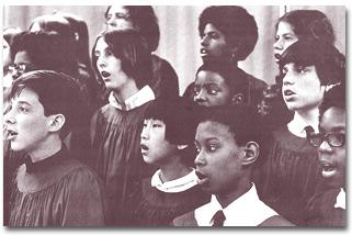 Moore's choir