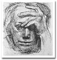 Kollwitz's self-portrait