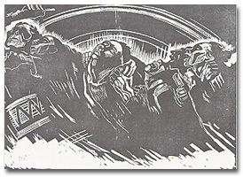 "Kollwitz's ""The Volunteers"""