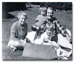 Pennington's grandchildren