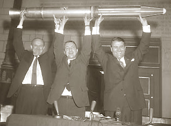 Pickering, Van Allen, and Von Braun