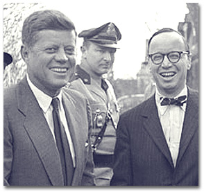 Schlesinger with Kennedy