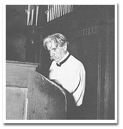 Schweitzer at the organ
