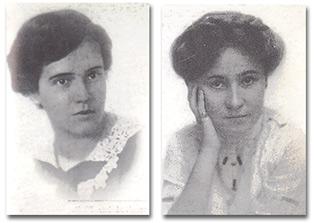 Jessie Taft and Virginia Robinson