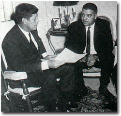 Young and JFK