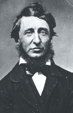 Henry David Thoreau, Courtesy of the Concord Free Public Library