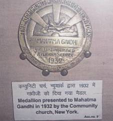 The Community Church Medal