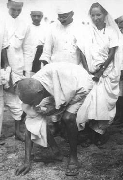 Gandhi and salt