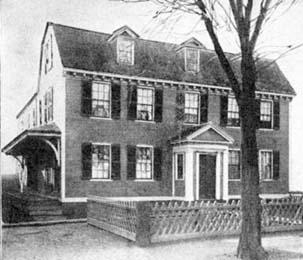 Brattle House, now 42 Brattle Street