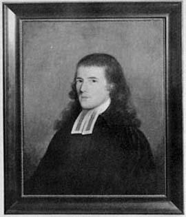 Reverend Abiel Holmes Portrait by Edward Savage