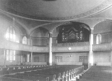The First Parish Meeting House (interior)