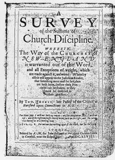Thomas Hooker's interpretation of congregational polity