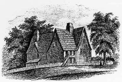 The Shepard House from The Founding of Harvard University; Harvard University Press