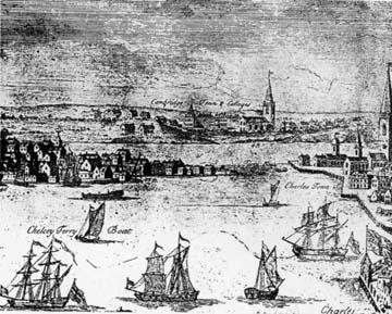 Burgis-Price view of Boston,  Views of Harvard, Harvard University Press.