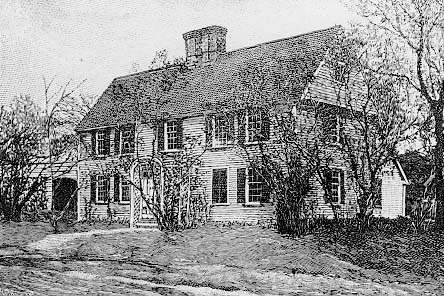 Cooper-Frost-Austin-House, the oldest house now in Cambridge. On Linnaean St.