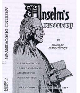 Anselms' Discovery Hartshorne