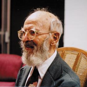 Charles Hartshorne in 1991