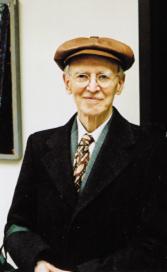 Charles Hartshorne in 1981