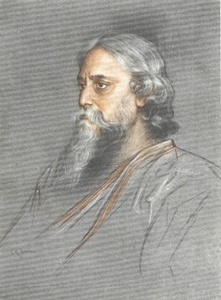 Rabindranath Tagore The Heart Of God Poems Harvard border=