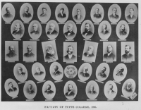 Faculty of Tufts College, 1896