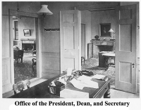 Offices of the President, Dean, and Secretary