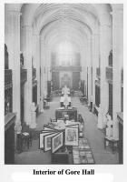 Interior of Gore Hall