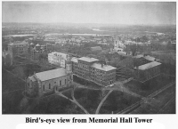 Bird's-Eye View from Memorial Hall Tower