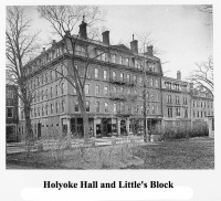Holyoke Hall and Little's Block