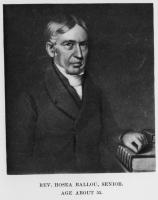 Rev. Hosea Ballou, Sr.
