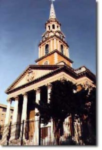 All Souls Unitarian Church in Washington, DC, where Davies was minister from 1944 to 1957