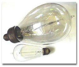 """""""Mazda"""" bulbs, 500 Watts at 110 to 120 volts, were produced between 1911 and 1913."""