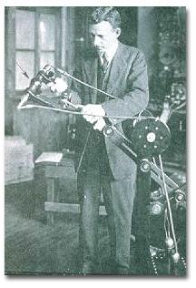 William Coolidge in his lab